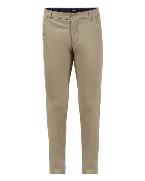 Parx Grey Super Slim Fit Trouser