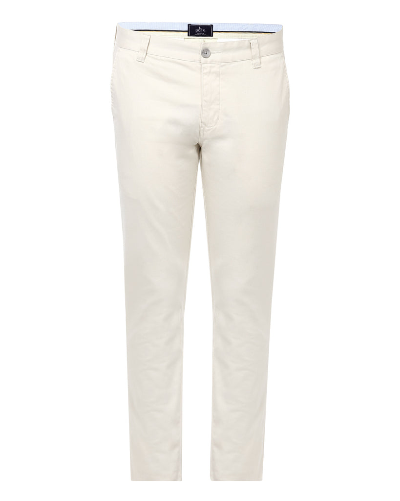 Parx Fawn Super Slim Fit Trouser