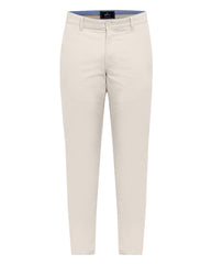 Parx Beige Super Slim Fit Trouser