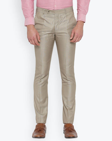 Parx Light Brown Urban Fit Trouser