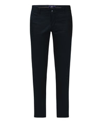 Parx Blue Regular Fit Trouser