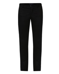 Parx Black Regular Fit Trouser
