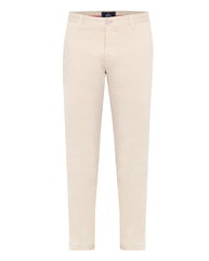 Parx Cream Slim Fit Trouser