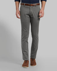Parx Grey Tapered Fit Trouser