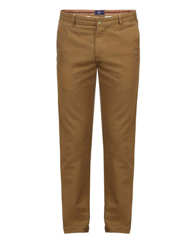 Parx Khaki Slim Fit Trousers