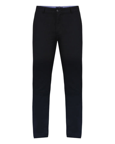 Parx Black Slim Fit Trousers
