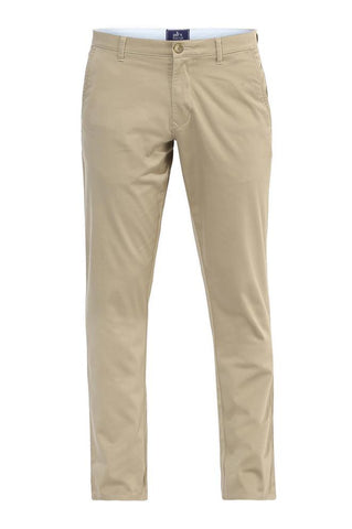 Parx Medium Green Low Rise Tapered Fit Trousers