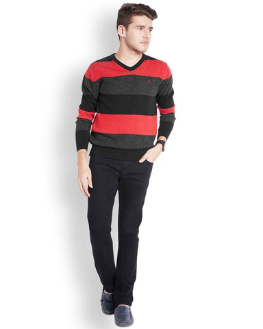 Parx  Multicolor Regular Fit Sweater
