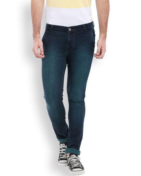 Parx  Blue Slim Fit Jeans