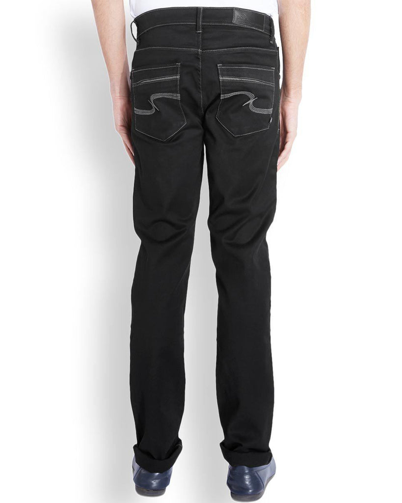 Parx  Black Slim Fit Jeans