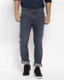 Parx Grey Slim Fit Jeans