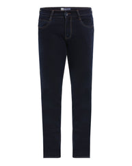 Parx Dark Blue Slim Tapered  Jeans