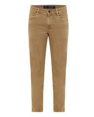 Parx Brown Slim Fit Jeans
