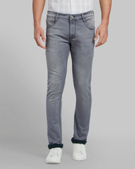 Parx Medium Grey Skinny Fit Jeans