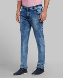 Parx Medium Blue Slim Fit Jeans