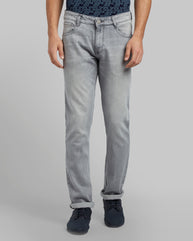 Parx Dark Grey Slim Fit Jeans