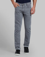 Parx Medium Grey Slim Fit Jeans