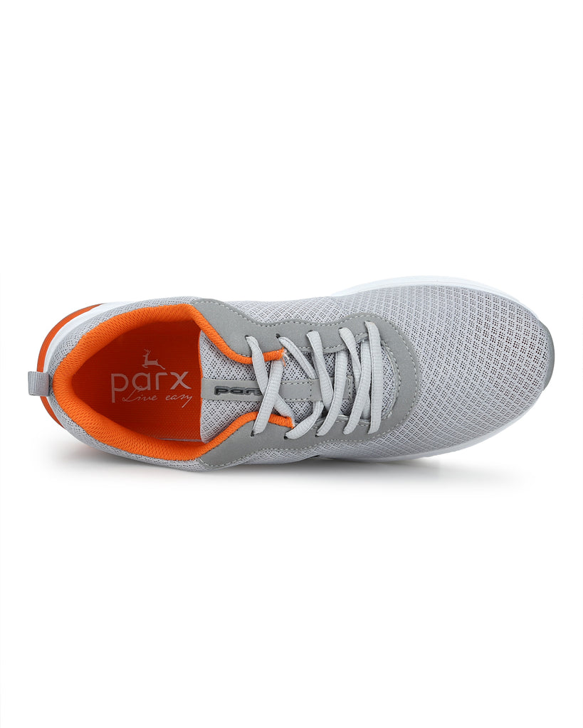 Parx Medium Grey Casual Shoes