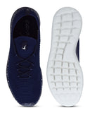 Parx Dark Blue Casual Shoes