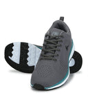 Parx Dark Grey Casual Shoes