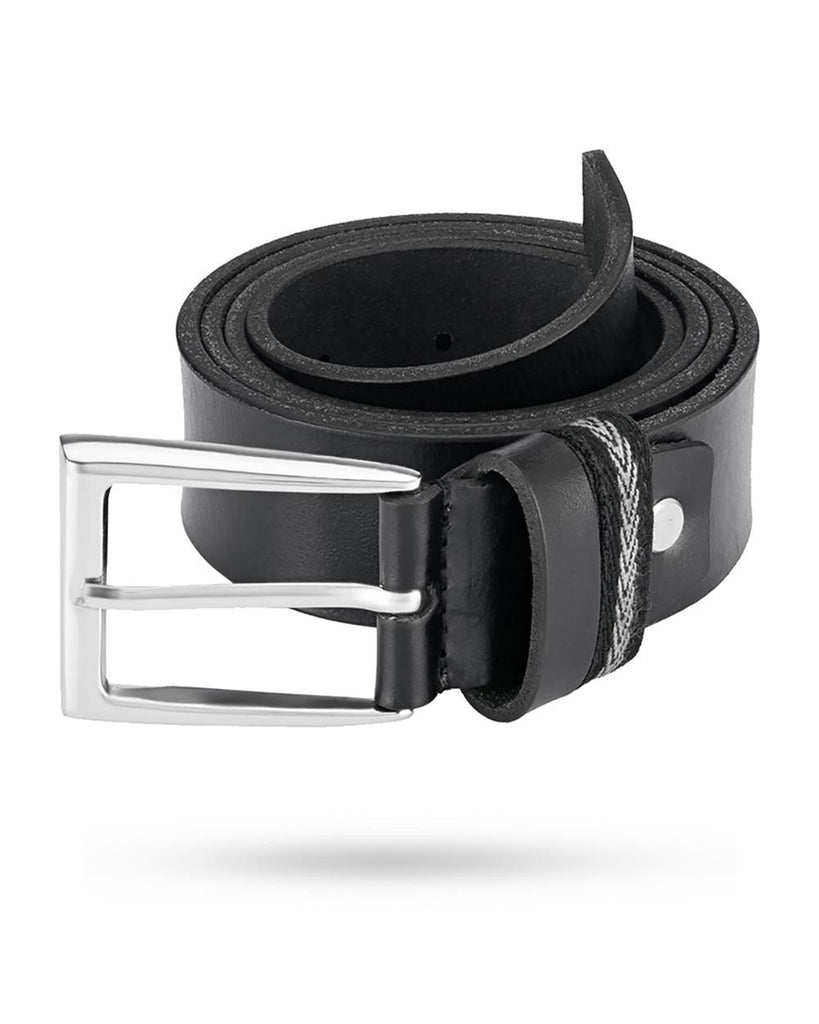 Parx Black Leather Belts