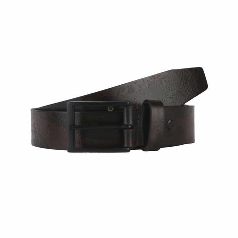 Parx Brown Leather Belt