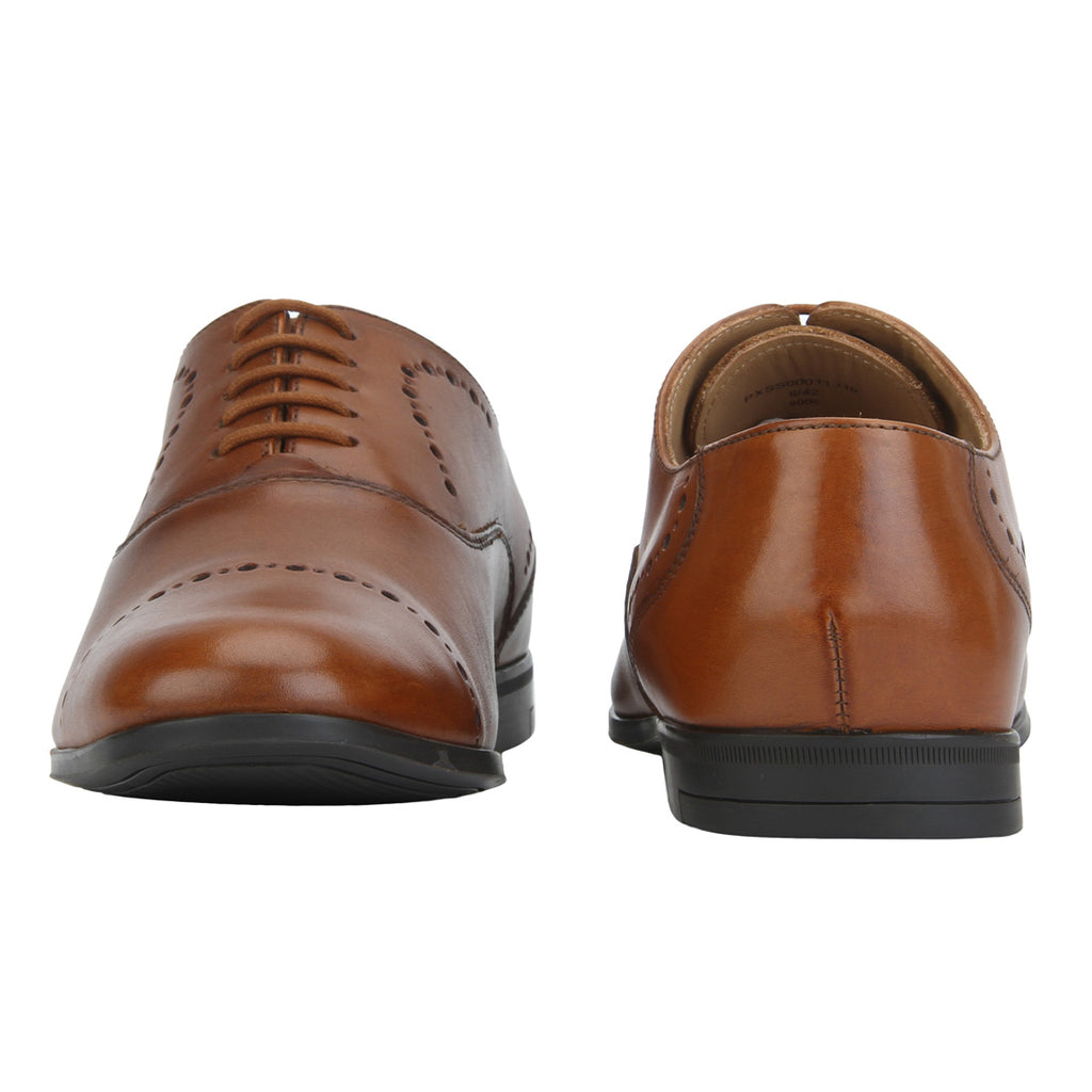 Park Avenue Brown Leather Shoes