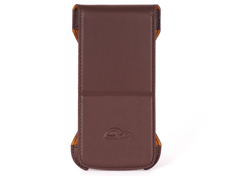 iPhone 6 Flip Case - Vegtan Leather - Stand Function - Card Slot - perspective - brown - Carapaz