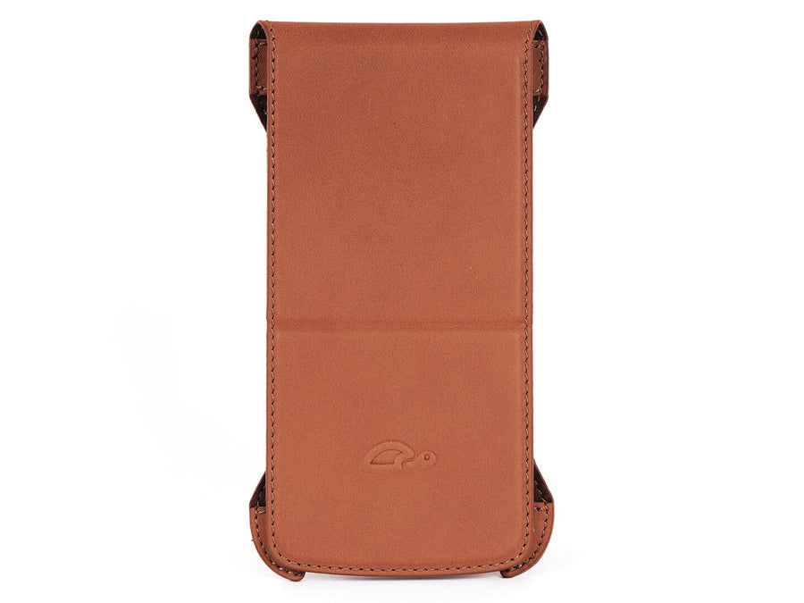 Flip Case iPhone 6 / 6 Plus - Vegtan Leather - Stand Function - Card Slot - perspective - tan - Carapaz