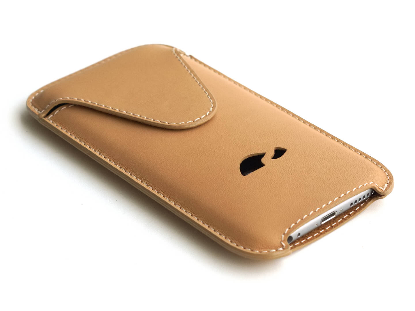 Leather iPhone cover iPhone 7 cover Leather iPhone sleeve