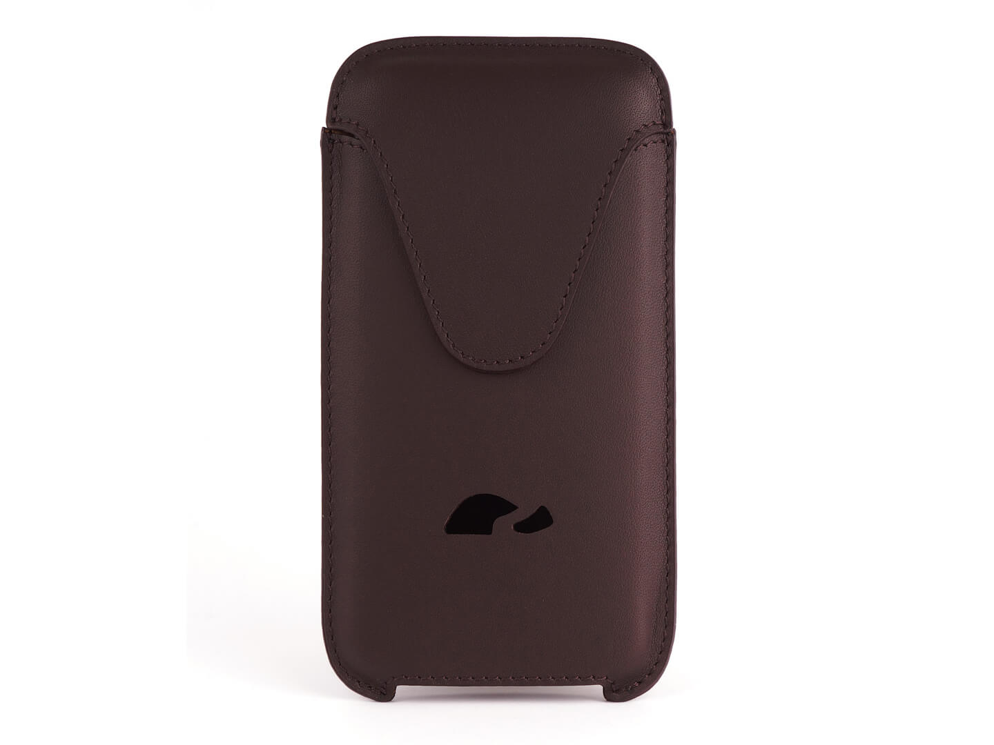 best sneakers 76875 32397 LEATHER POUCH iPHONE 6 / 6 PLUS / 7 / 7 PLUS / 8 / 8 PLUS / XS Max - BROWN