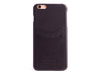 iPhone 6 / 6 Plus Leather Cover with Card Slots - BLACK