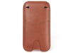 LEATHER POUCH FOR iPHONE X / XS - TAN