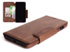 Wallet Case iPhone 7 8 Plus Vintage Leather brown - Carapaz