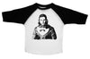 JON SNOW  / Jon Snow Raglan Baseball Shirt for Toddlers