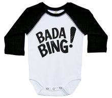 Load image into Gallery viewer, Bada Bing! / Raglan Baby Onesie / Long Sleeve