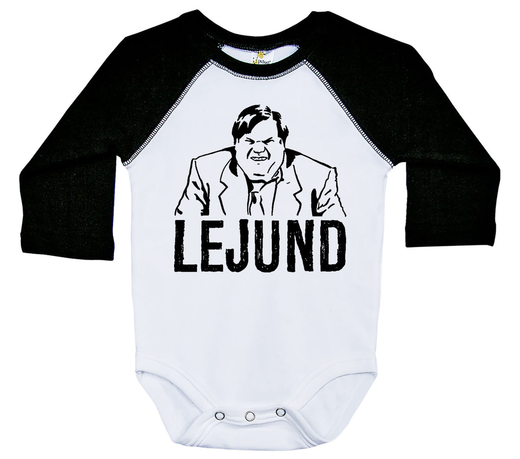 Chris Farley - Lejund / Raglan Onesie / Long Sleeve