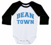 BEAN TOWN / Boston Inspired Raglan Onesie