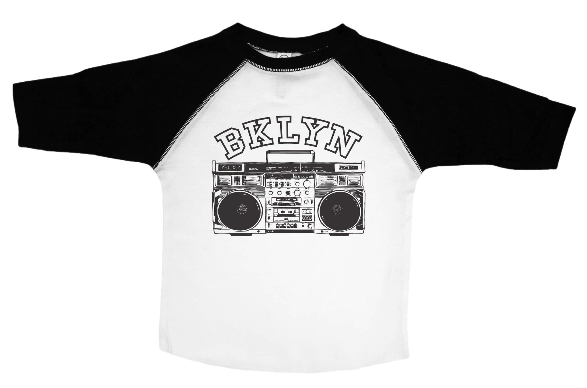 BKLYN / Brooklyn 3/4 Sleeve Raglan Baseball Shirt for Toddlers