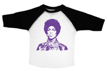 Load image into Gallery viewer, PURPLE PRINCE  / Purple Prince Raglan Baseball Shirt for Toddlers