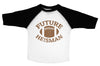 FUTURE HEISMAN  / Future Heisman Raglan Baseball Shirt for Toddlers