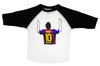 MESSI POINTING  / Messi Pointing Raglan Baseball Shirt for Toddlers