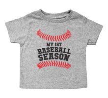 Load image into Gallery viewer, My First Baseball Season - Toddler Crewneck