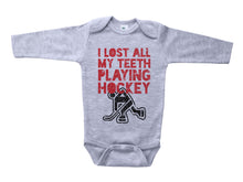 Load image into Gallery viewer, I Lost All My Teeth Playing Hockey / Basic Onesie