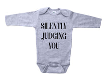 Load image into Gallery viewer, Silently Judging You / Basic Baby Onesie