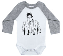 Load image into Gallery viewer, Chris Farley / Raglan Onesie / Long Sleeve