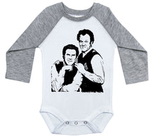 Load image into Gallery viewer, Step Brothers / Raglan Onesie / Long Sleeve
