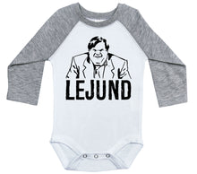 Load image into Gallery viewer, Chris Farley - Lejund / Raglan Onesie / Long Sleeve