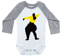 Load image into Gallery viewer, M.C. Hammer - Yellow Shirt / Raglan Onesie / Long Sleeve