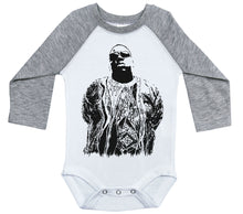 Load image into Gallery viewer, Biggie Sweater / Raglan Baby Onesie / Long Sleeve